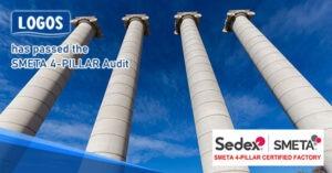 Logos Packaging has passed the SMETA 4-PILLAR Audit